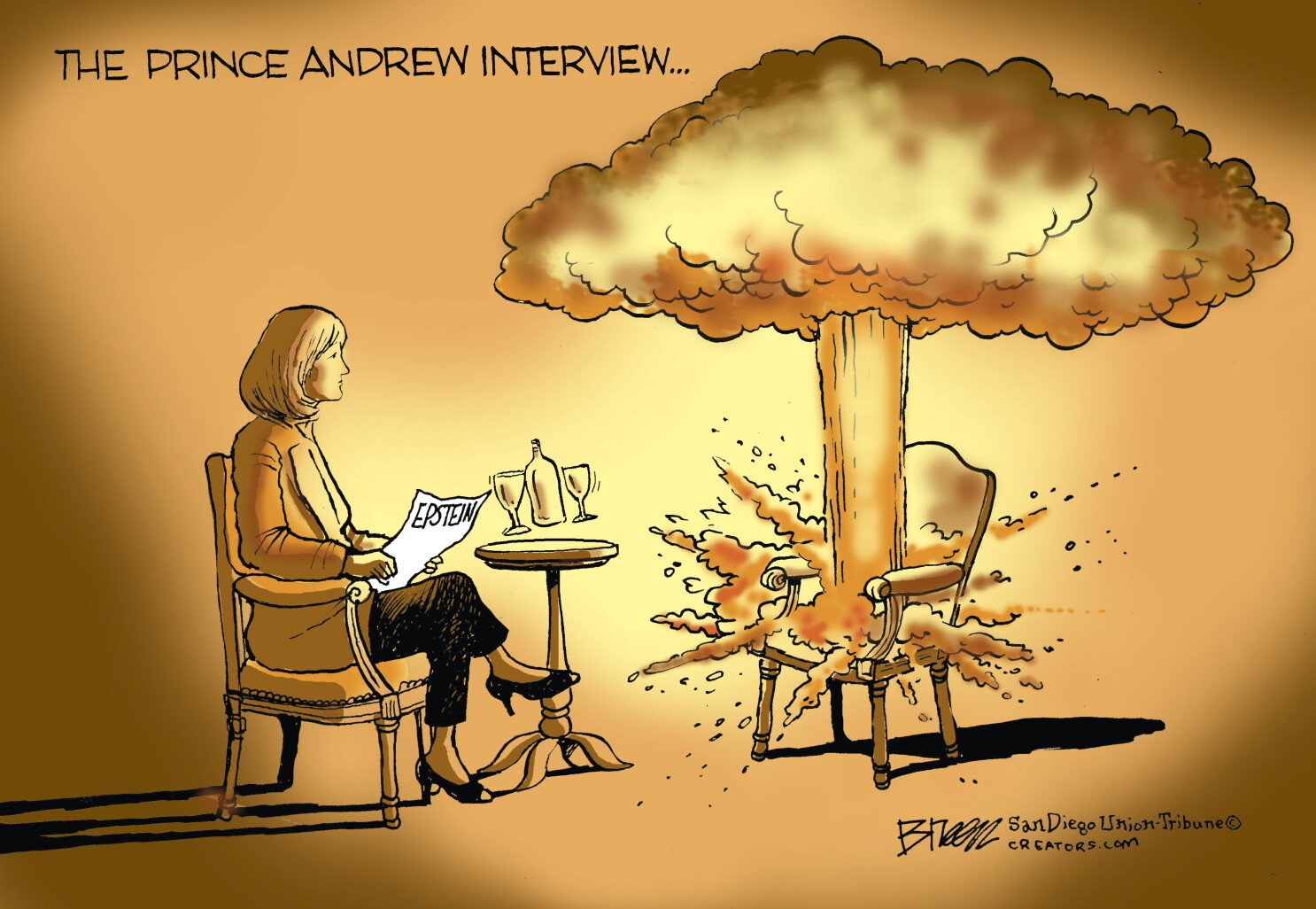 Prince Andrew Interview About Epstein A Pr Disaster The San