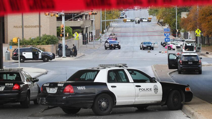 Foto de archivo de la policía de Austin que ahora está involucrada con la muerte de un joven afroamericano.