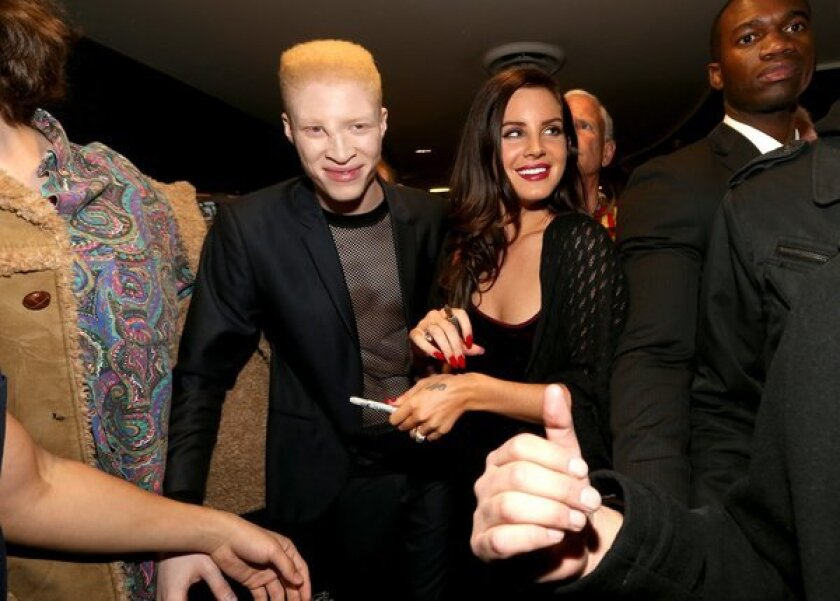 Lana Del Rey and 'Tropico' co-star Shaun Ross