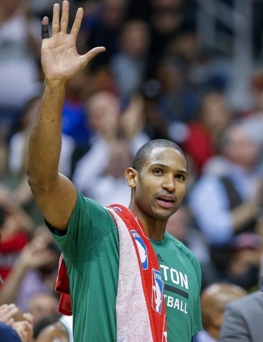 El pívot dominicano Al Horford, de los Celtics de Boston. EFE/Archivo