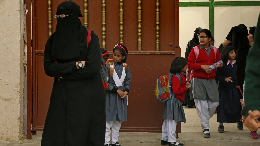 Tashfeen Malik, one of the two San Bernardino shooters, spent her teenage years in Saudi Arabia, where she attended the Pakistan International School in Riyadh, above, from about 2002 to 2005.