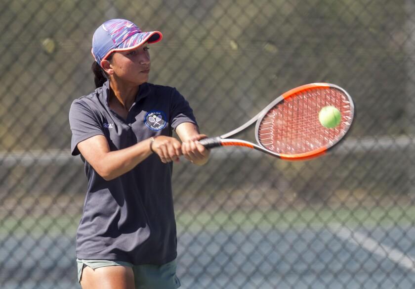 Eastlake junior Niki Shahbazi began playing tennis with her dad at age 4.