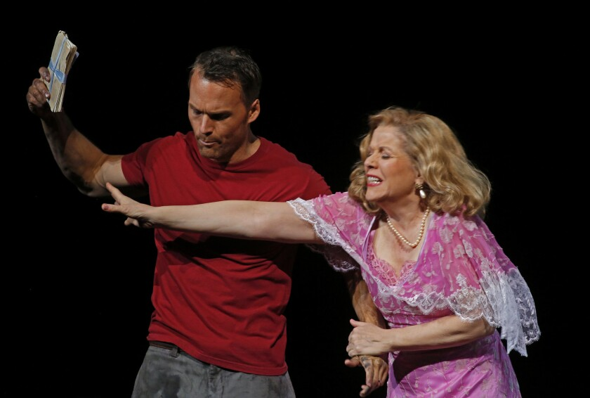 "Ryan McKinney and Renee Fleming in L.A. Opera's ""A Streetcar Named Desire."""