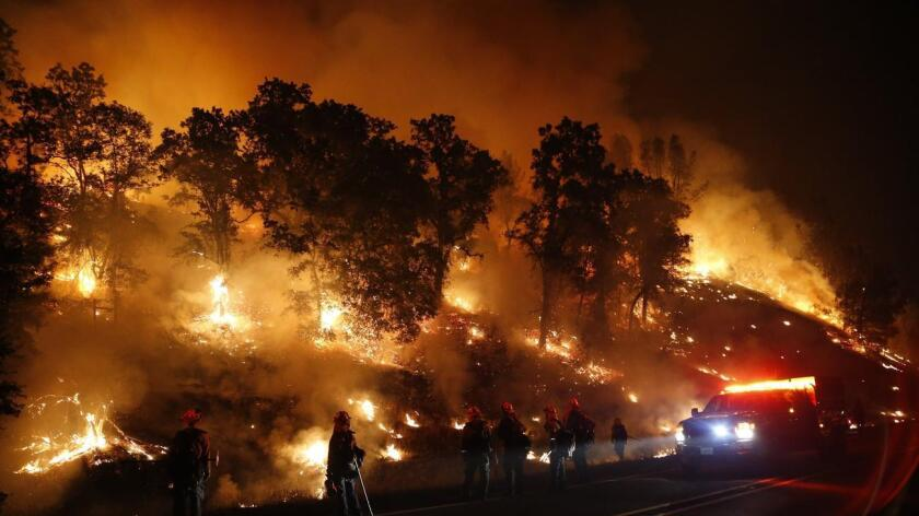 Incendio, California