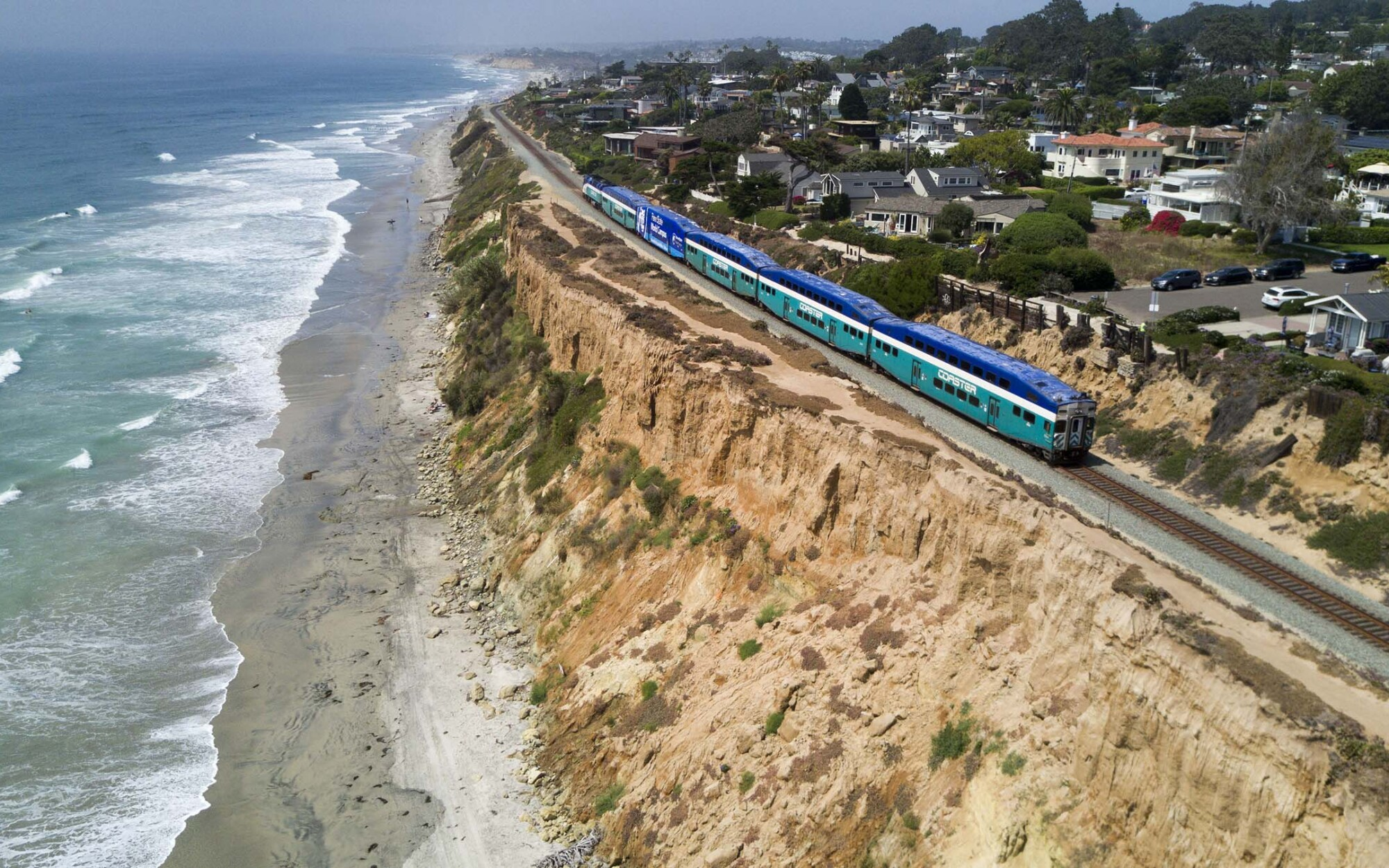 Del Mar Bluff Collapse