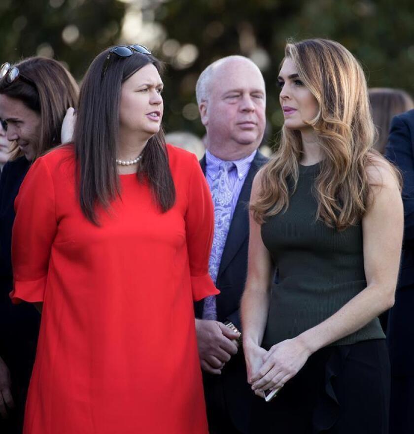 """Hope Hicks, la hija """"adoptiva"""" de Trump que forjó el mensaje de Casa Blanca"""