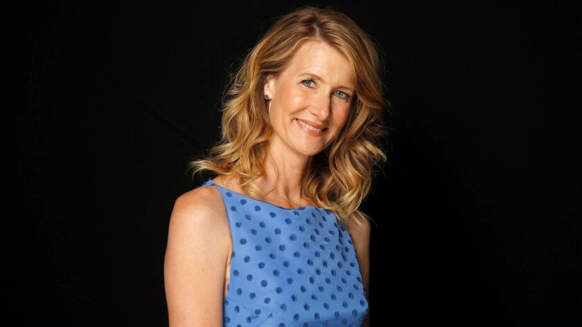 LOS ANGELES, CA., APRIL 28, 2017-- Laura Dern (BIG LITTLE LIES) stopped by THE ENVELOPE for a chat