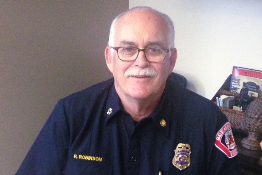 Oceanside Fire Chief Rick Robinson.