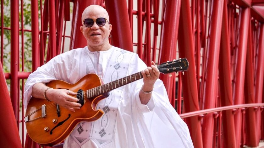 African music legend Salif Keita has collaborated with everyone from Weather Report co-founder Joe Zawinul to Living Colour guitarist Vernon Reid.