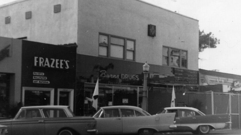In 1952, Burns Drugs opened for business in the building and served La Jollans for 62 years, before closing in 2014.