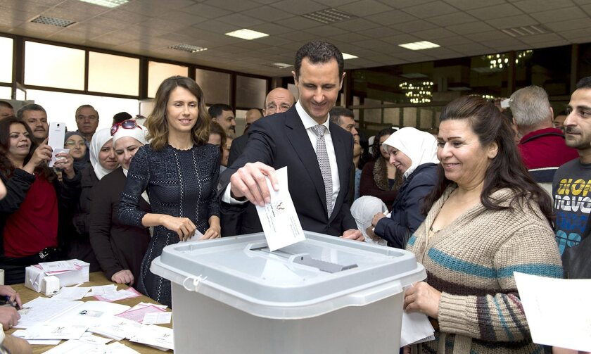Polling in Syria