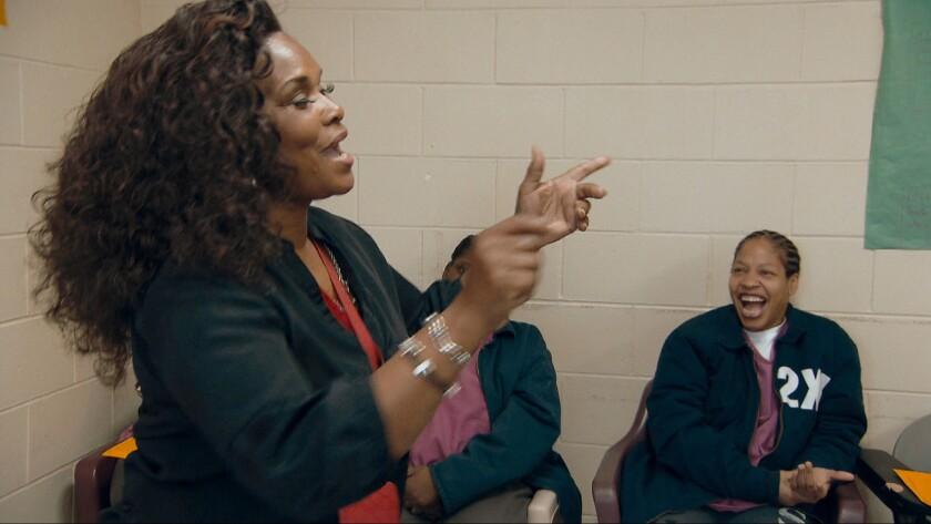 """Brenda Myers-Powell in a scene from """"Dreamcatcher."""""""