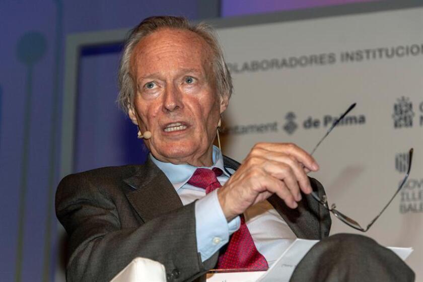 En la imagen, exministro español y actual presidente de la Fundación Iberoamericana Empresarial, Josep Piqué. EFE/Archivo