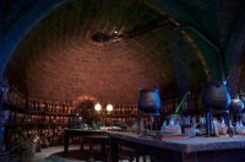 Professor Snape's Potions Lab