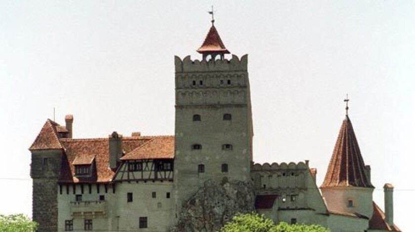 """BRAN CASTLE: """"Saxons built Bran Castle in 1382 to protect the gateway to Transylvania at Bran pass. By building the castle, the Saxons gained their freedom from the Romanians. In order to provide rapid access to weaponry and fortifications, a labyrinth of secret passages and tunnels exist throughout the castle and beneath its courtyard."""""""