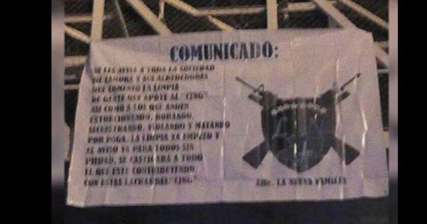 Supuesto nuevo cartel criminal en Michoacán