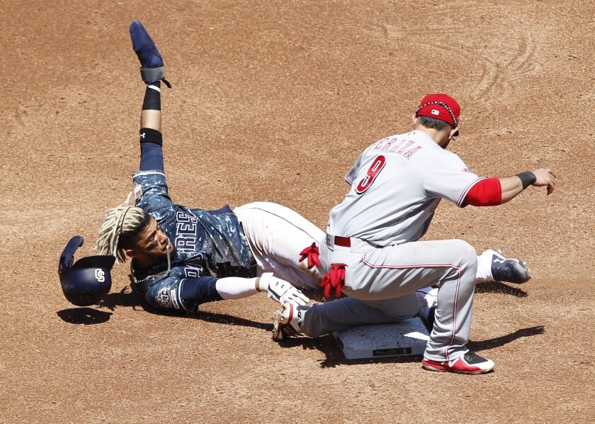 Padres vs. Reds 4/21/19