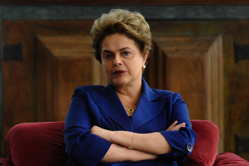 Dilma Rousseff faces an impeachment trial.