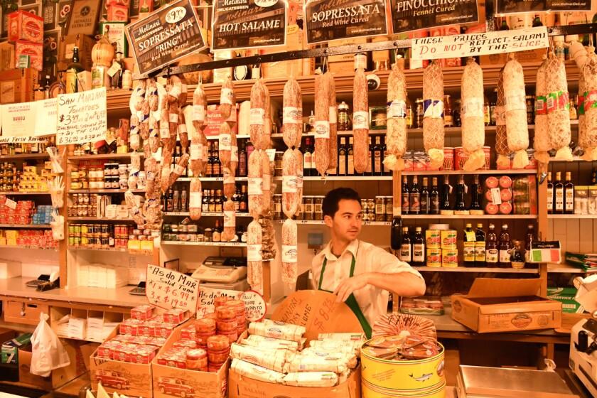 Molinari Delicatessen in North Beach, San Francisco.