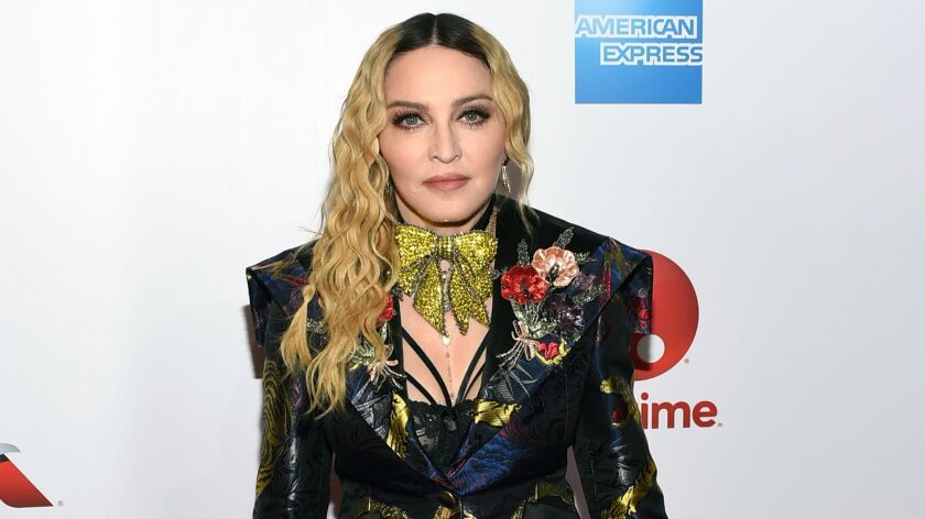 Madonna attends the 11th annual Billboard Women in Music honors.