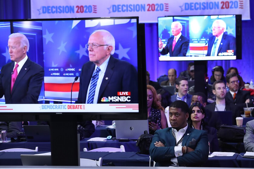 Opinion: The Democratic debate confirmed it — we've entered the 'Bernaissance'
