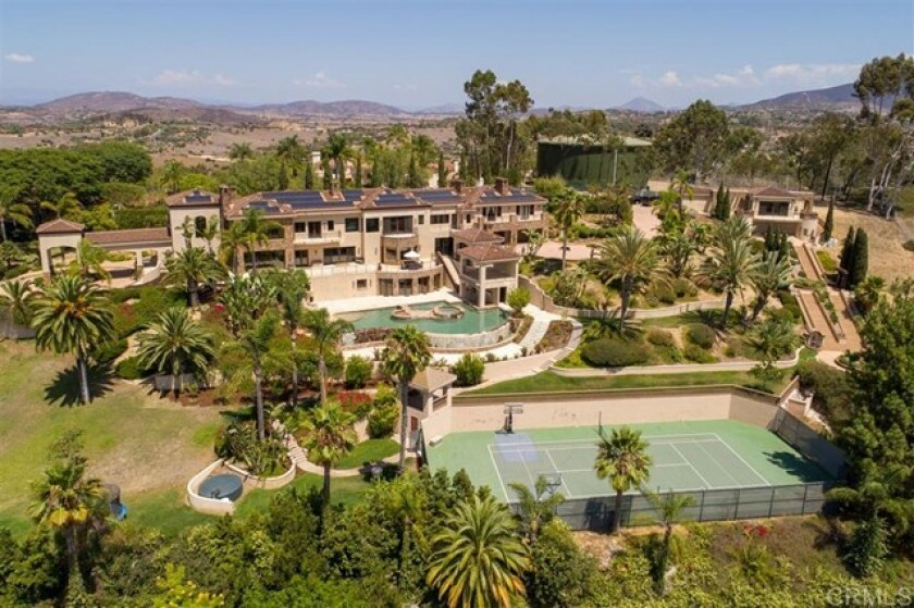 The Beach Boys' Mike Love is selling is Rancho Santa Fe home for $8.65 million.