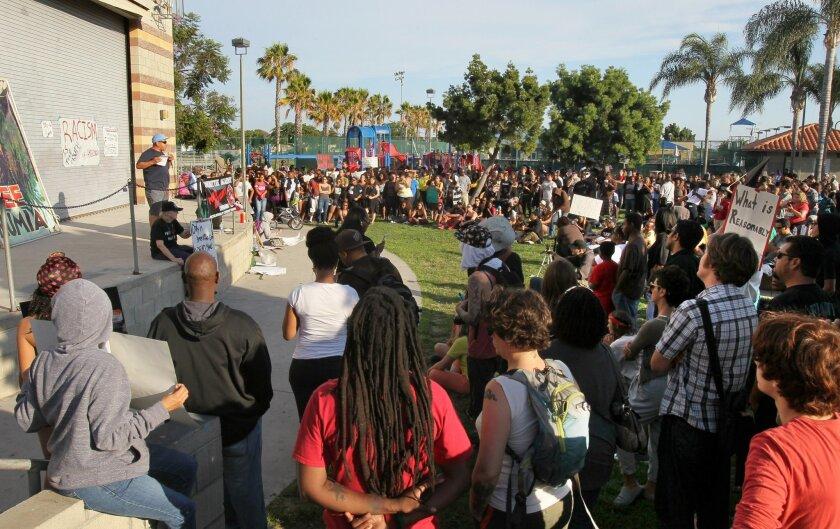 San Diego rally for Trayvon Martin