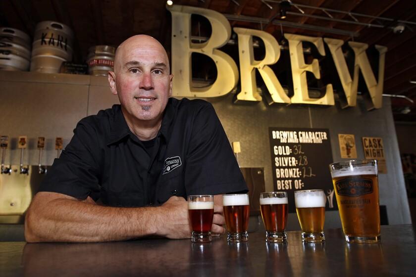Paul Segura, brewmaster, Karl Strauss Brewery