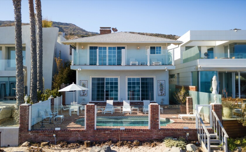 Garry Marshall's Carbon Beach home