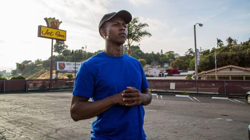 Stockton rapper Haiti Babii.