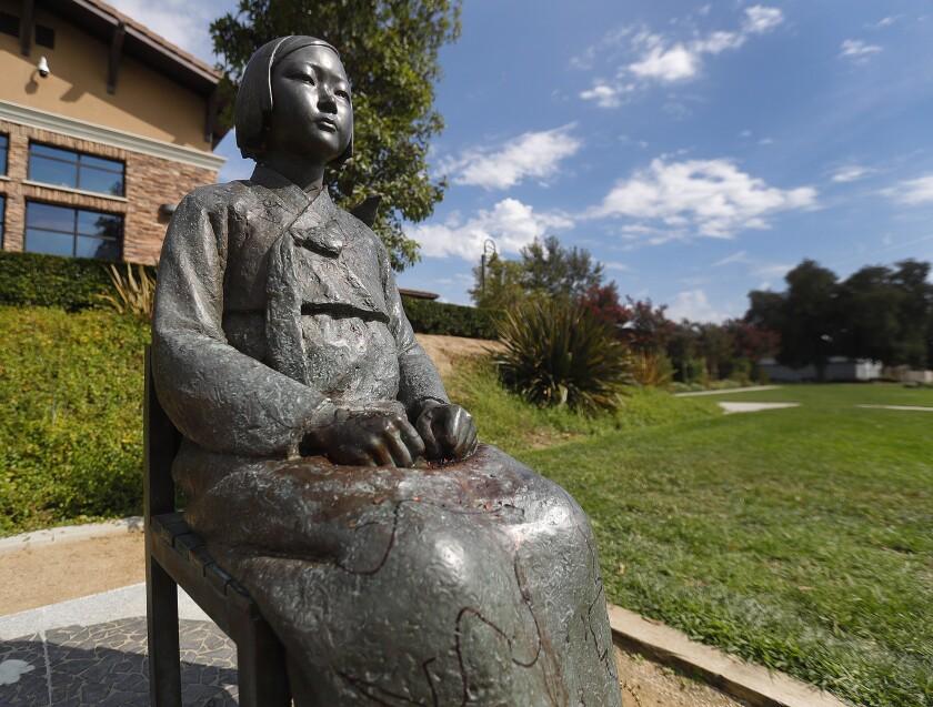 Glendale's Korean Comfort Women Peace Monument