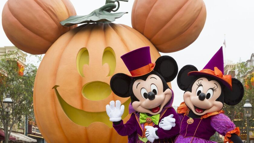 MICKEY MOUSE AND MINNIE MOUSE CELEBRATE HALLOWEEN TIME (ANAHEIM, Calif.) –– During Halloween Time at