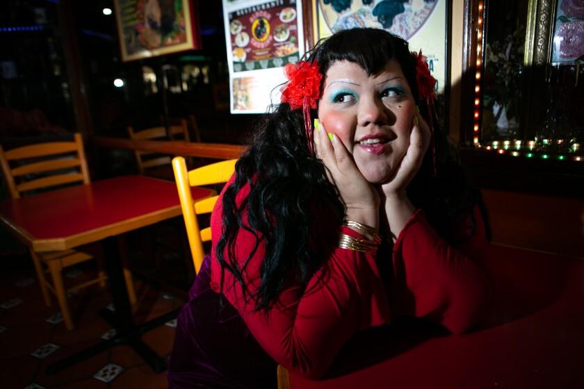Gabriela Ruiz at Rincon Taurino in Panorama City.