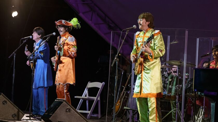 Beatles tribute band Classical Mystery Tour