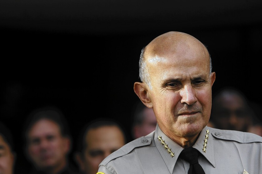Sheriff Lee Baca held a reelection fundraiser 18 days after many of his current and former staffers were indicted on charges of beating jail inmates.
