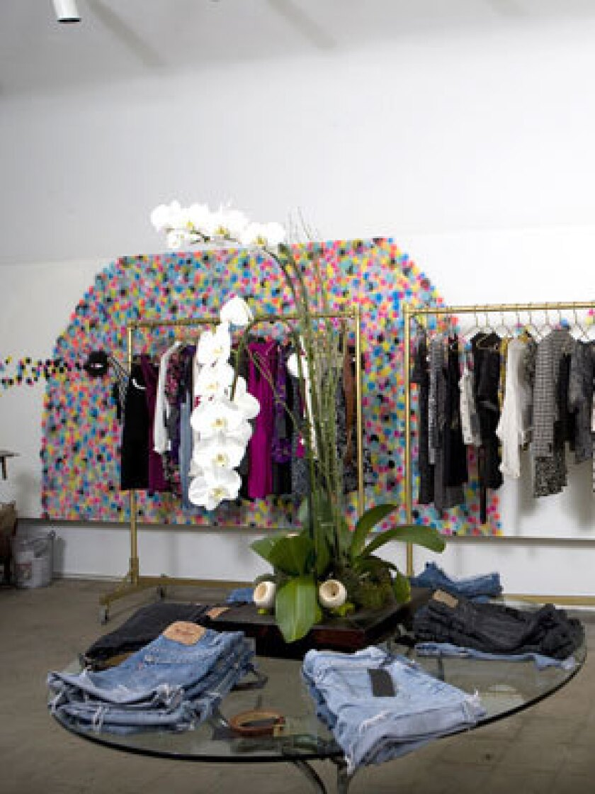 At the Reformation in L A , vintage style gets a second life