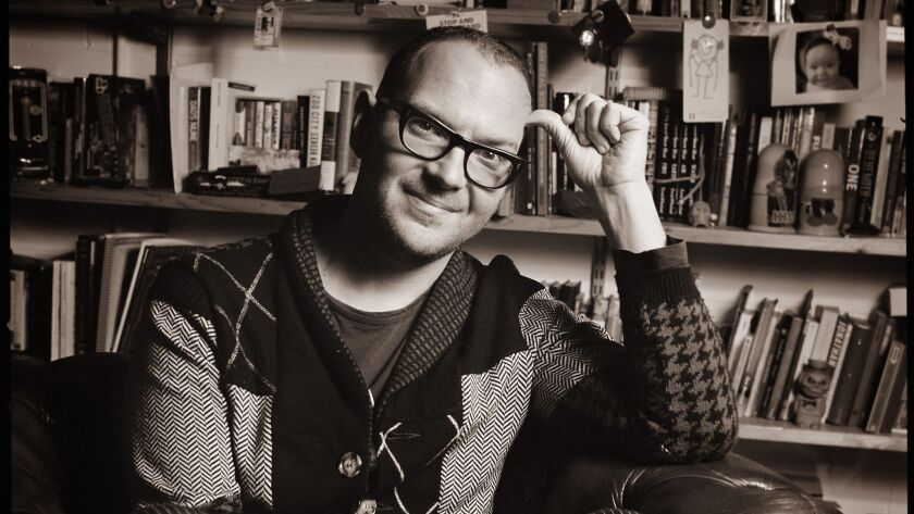 "An author photo of Cory Doctorow for his book ""Radicalized."" Credit: Jonathan Worth"