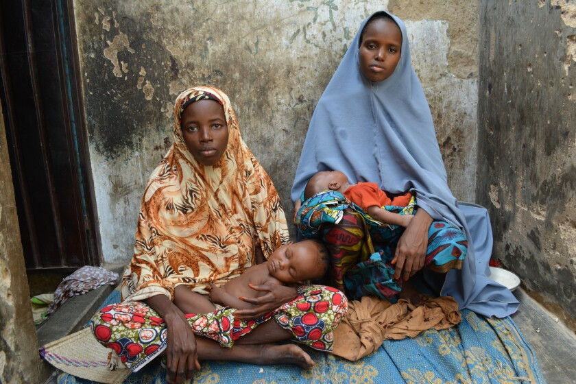 In Nigeria very large families face poverty malnutrition