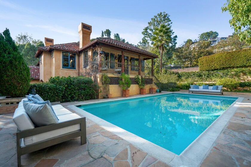 The Westmore property includes a saltwater swimming pool.
