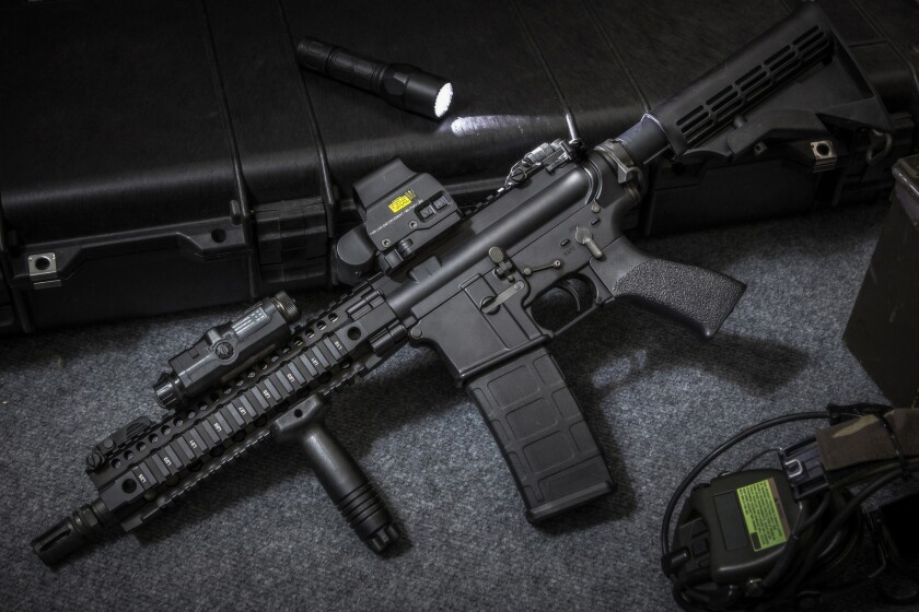 Bank of America Corp. plans to stop lending to companies that make assault-style guns used for non-military purposes.