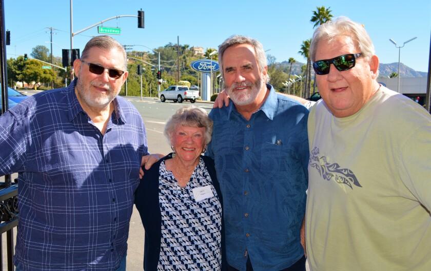 Chargers Alumni Reunion 2020 from left Ed White, Pat Rogers, Dan Fouts, Louis Kelcher.jpg