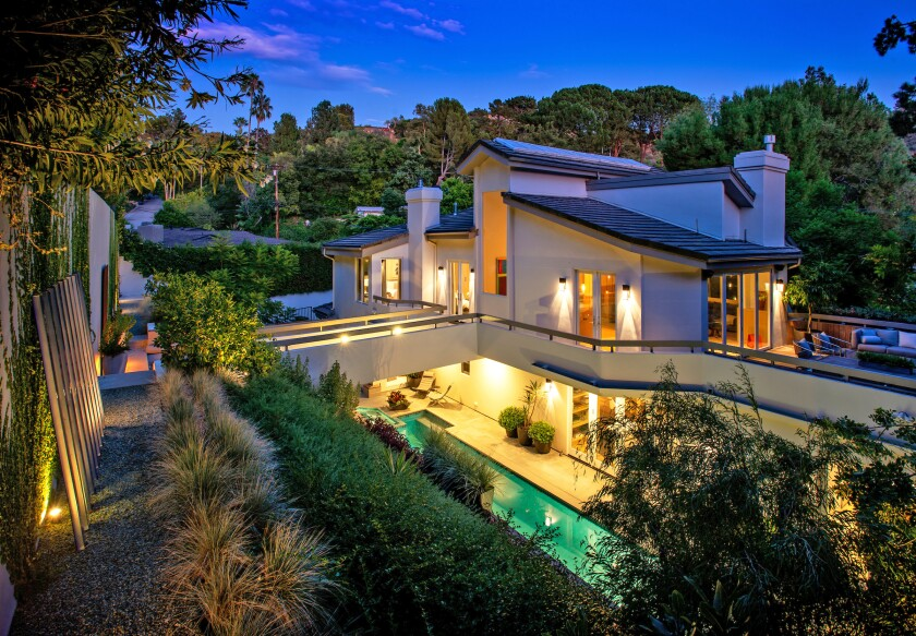 Entertainment executive Debra Lee has listed her Beverly Hills Post Office-area home for sale.
