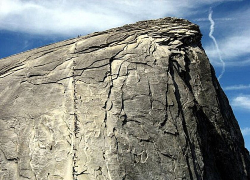 Hiker is killed in fall from Half Dome at Yosemite National