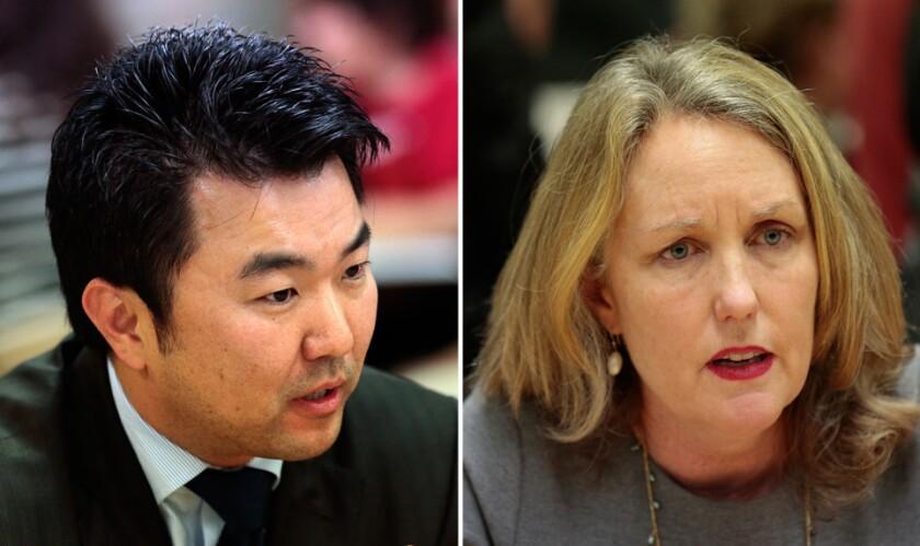 David Ryu and Carolyn Ramsay
