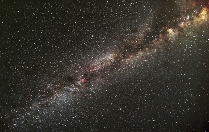 This is the section of the Milky Way that includes the Kepler field of view