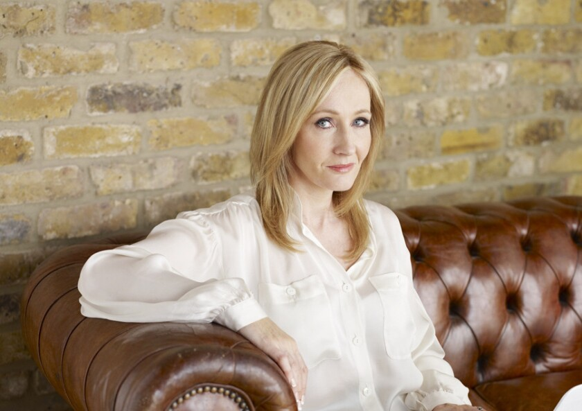 """Harry Potter"" author J.K. Rowling launched a new initiative Wednesday aimed at abating coronavirus fears."
