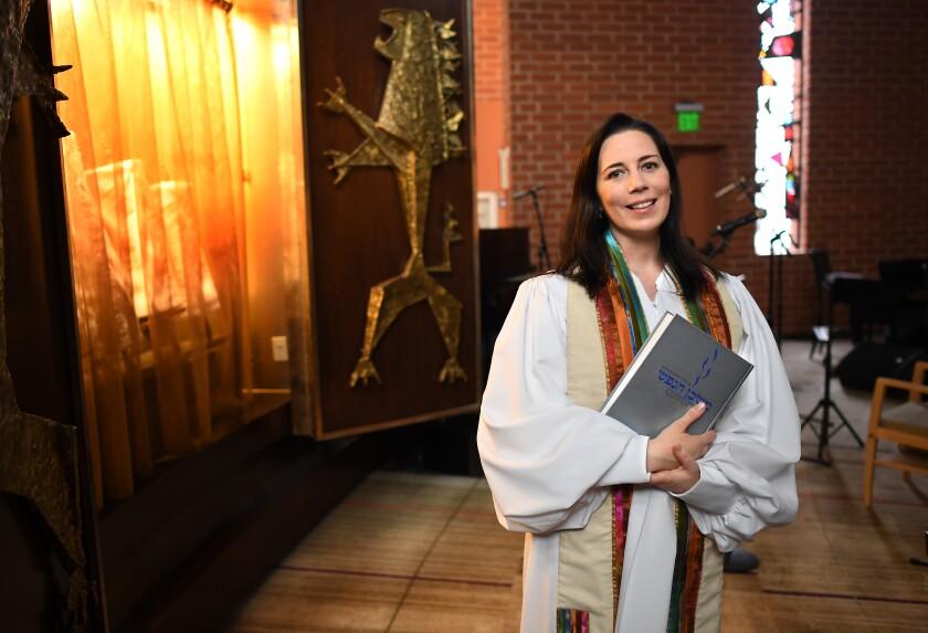Rabbi Sarah Bassin of Temple Emanuel in Beverly Hills