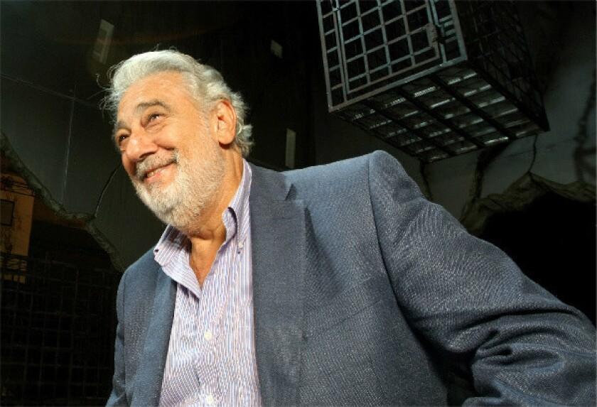 Placido Domingo has been hospitalized.