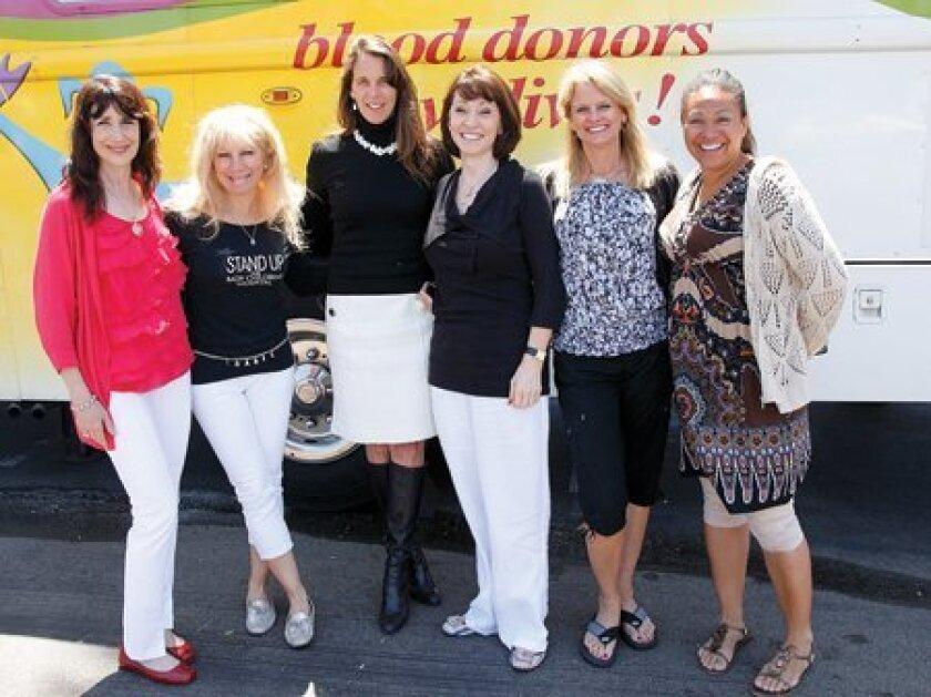 Nancy Cetel-Weiss, Gina Jordan, Deana Ingalls, Gabriela Stratton, Michele Stephens, Tiffany Catledge