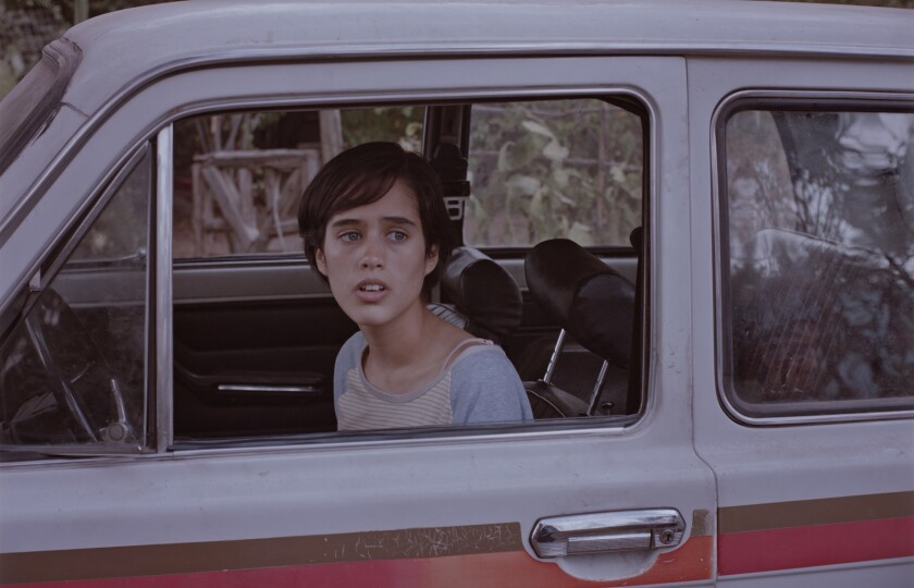 """Damian Hernandez in a scene from """"Too Late to Die Young."""" Credit: KimStim"""